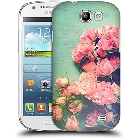 Ufficiale Olivia Joy StClaire Rose rosa Sul Tavolo Cover Retro Rigida per Samsung Galaxy Express I8730