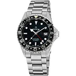 Grovana Gents Watch Diver Automatic GMT 1572.2137