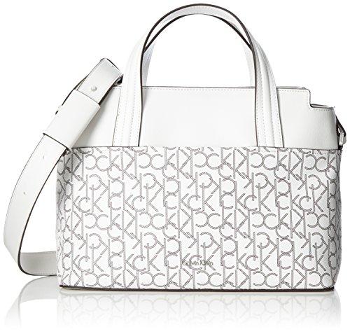 Calvin Klein K60K602522 Shopper Taschen und Accessoires WHITE MONOGRAM