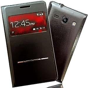 Etui Housse SAMSUNG GALAXY NOTE 4 Coque Flip cover de protection PORTEFEUILLE Noir S-view FOLIO pour Smartphone GALAXY NOTE 4 IV N910C Wifi LTE SM-N910C 910C N910 SM-N910 4g 16 32 64 GB Go
