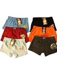 6er Pack Boxershorts mit Aufdruck Boxer Shorts Short Unterhose 6er Pack Unterhosen