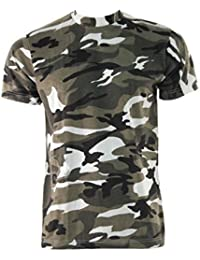 Urban Camouflage Military Army Combat Paintball Camo T-Shirt