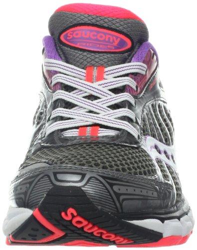 Saucony Running Powergrid Ride 6, Scarpe da corsa donna Grigio/Viola