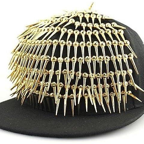 ZXR unisex tela/berretto da baseball in cotone, feste/Casual Per tutte le stagioni, Silver