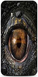 Snoogg Dragons Eye 2774 Designer Protective Back Case Cover For Htc One M9 Pl...
