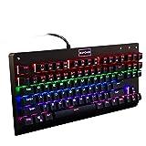 GooBangDoo beleuchtete Mechanische Gaming Tastatur (the normal ANSI-US (QWERTY)) schwarz