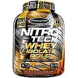 Muscletech Performance Series Nitro Tech Whey Plus Isolate Gold Bonus Double Rich Chocolate - 1814 gr