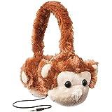 ReTrak Animalz rétractable limitation de volume pour enfant casque d'écoute, singe (Etaudfmnky)