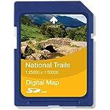 Satmap National Trail 1:25000/1:50000 North Downs Way