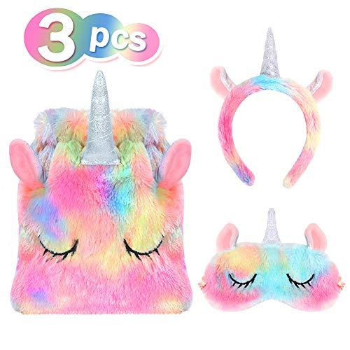VAMEI Einhorn Haarreif Stirnband mit Mädchen Geschenk Taschen - Halloween-geschenk-taschen