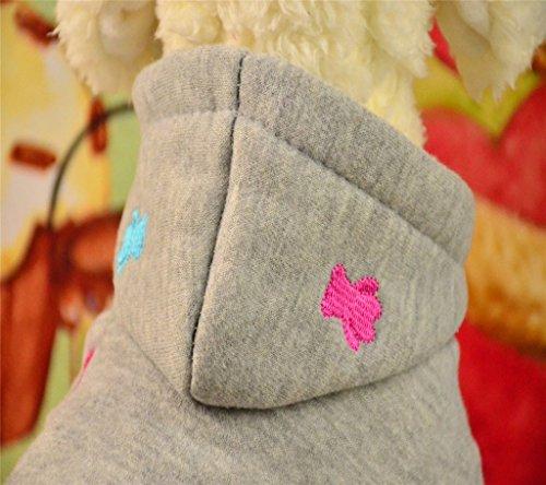 PAWZ Road Hundepullover Hoodie Mantel in vier Farben erhältlich - 3