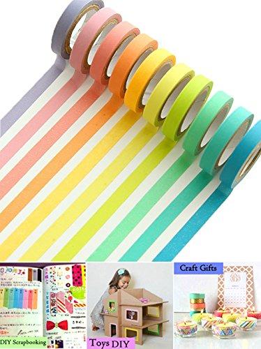 uclever-10-decorativo-mascheratura-washi-adesivo-colorato-arcobaleno-nastri-fai-da-te-nastri-etichet
