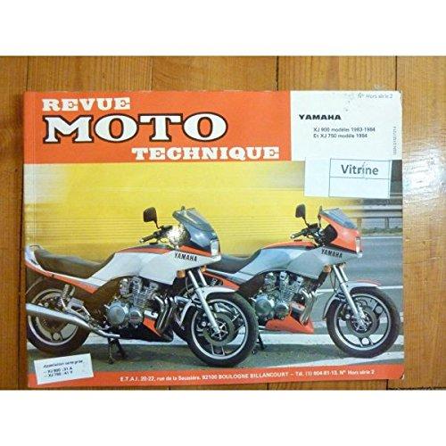 RMTHS002 REVUE TECHNIQUE MOTO YAMAHA XJ 900 ET 750