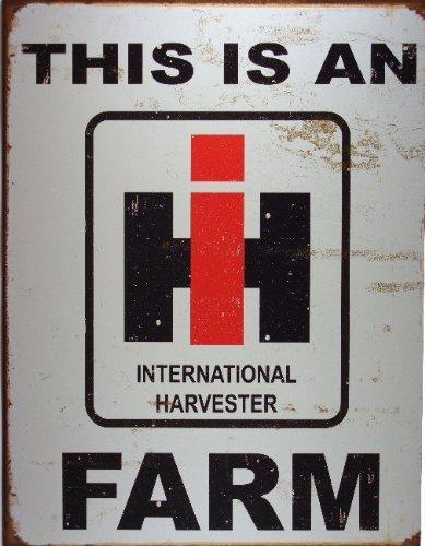 International Harvester Farm Blechzeichen (de) (International Harvester)
