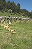 Playing the Alphorn Journal: 150 page lined notebook/diary