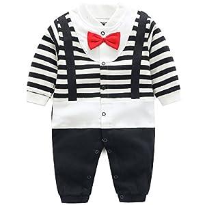 Bebs-Pijama-Algodn-Mameluco-Nias-Nios-Peleles-Sleepsuit-Caricatura-Trajes-6-9-Meses
