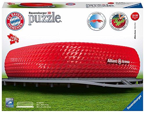 Ravensburger Ravensburger FC Bayern München 3D Puzzle Allianz Arena – 10-99 Jahre