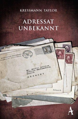 Buchseite und Rezensionen zu 'Adressat unbekannt' von Kathrine Kressmann Taylor