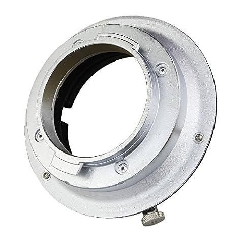 haoge Adaptateur speedring Support adaptateur convertisseur pour Broncolor Pulso/compuls/Primo pour