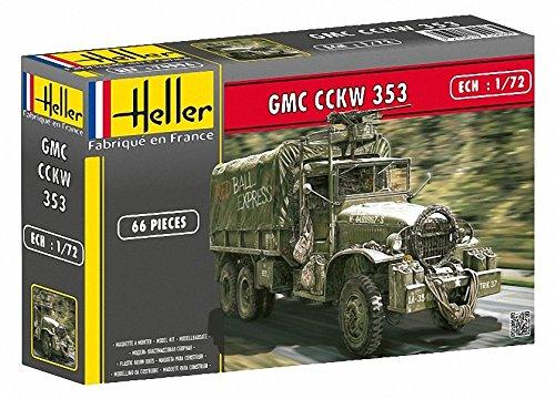 Heller 79996 1:72 Scale GMC Cckw 353 Model