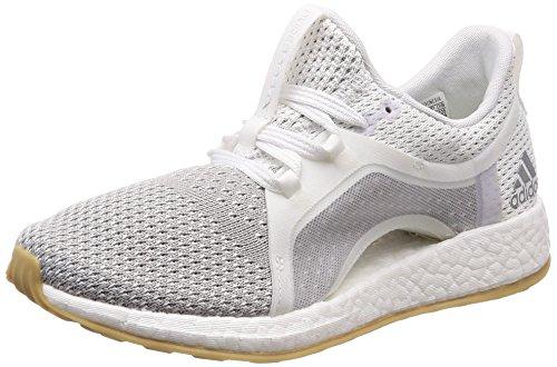 adidas Damen Pureboost X Clima Laufschuhe Weiß (Ftwwht/Silvmt/Gretwo) 39 1/3 EU