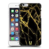 Head Case Designs Gold Marmor Glitzer Druecke Ruckseite Hülle für iPhone 6 Plus/iPhone 6s Plus
