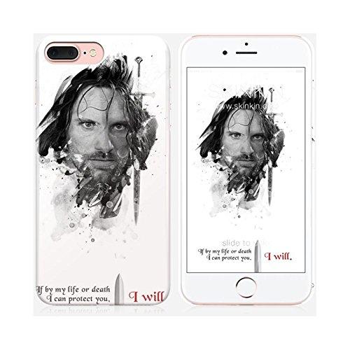 Sticker iPhone 5C de chez Skinkin - Design original : Shadow Aragorn par Julien Kaltnecker Coque iPhone 7 Plus
