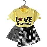 Googo Gaaga Girls Cotton Dresses for Girls in Yellow