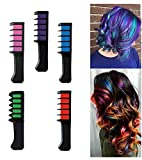 Majik Temporary Hair Chalk Cosplay Diy Non Toxic Washable Hair Color With Comb