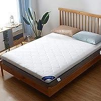 HM&DX Plegable Dormitorioir Colchón, Telar Poliester Antiescaras Grueso Futón Colchón Suelo Tatami para Dormitorio Alcoba