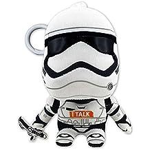 Llavero peluche Stormtrooper, con sonido de 11cm. Star Wars Episodio VII