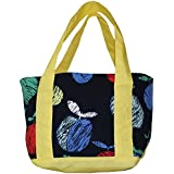 Kadambaby 100% Cotton Kids Lunch Bag. Lunch Bag With Zipper, Cute School Lunch Box , Fruity Tote Lunch Bag