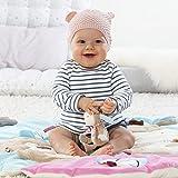 Fehn 081657 3-D-Activity-Decke Esel – Spielbogen mit 5 abnehmbaren Spielzeugen für Babys Spiel & Spaß von Geburt an – Maße: Ø85cm Vergleich
