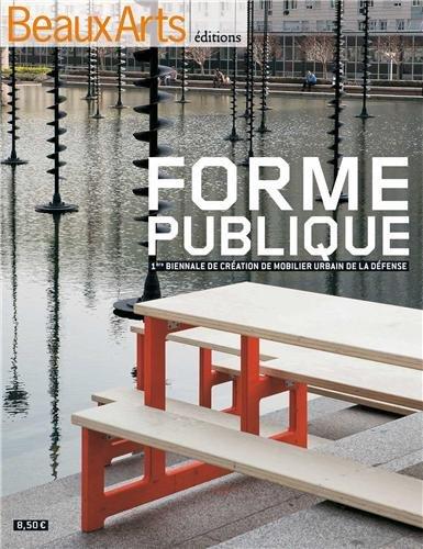 Forme publique : 1ère biennale de création de mobilier urbain de la Défense
