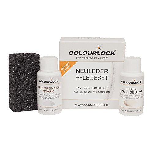 Colourlock® Glattleder Pflegeset mit Leder Versiegelung Mini mit Lederreiniger