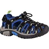 McKINLEY Unisex-Kinder Vapor II Jr. Trekking- & Wandersandale, Schwarz (Black/Blue/Lime 914), 31 EU