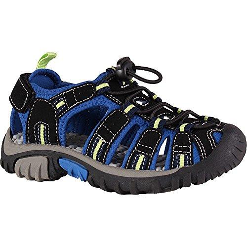 McKINLEY Unisex-Kinder Vapor II Jr. Trekking- & Wanderhalbschuhe, Schwarz (Black/Blue/Lime 914), 30 EU