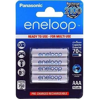 akku-net Panasonic eneloop AAA Microakku 750mAh NiMH, 4x 1,2V, NiMH