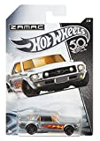 WH HotWheels 50th Anniversary ZAMAC FRN24 – 1967 Ford Mustang Coupe 1/8