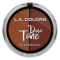 L.A. Colors Duo Tone Eyeshadow, Goddess, 4.5g