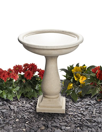 Cast Stone Clermont Bird Bath Height 51cm