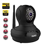 [UPGRADED] MAISI HD 1MP Wireless Security IP Camera with 3dB ENHANCED WiFi, Pet Monitor - Smart Setup In Minutes, Motion Detection Recording, Mobile Push Alerts, And MORE
