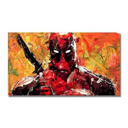 zgmtj Kunst Seide oder Leinwand drucken Deadpool DC Movie Poster für Raumdekoration Dekoration -