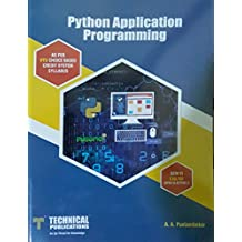 Amazon a a puntambekar books python application programming for sem vicseise open elective 2 fandeluxe Image collections