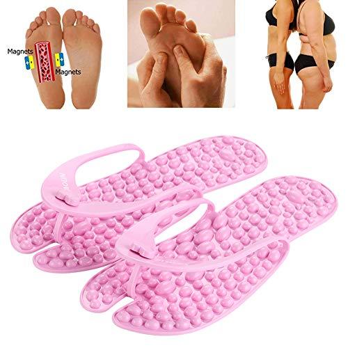 Ciabatte massaggianti - Sandali - Scarpe da Spiaggia e Piscina Adulto, Sandali Che massaggiano Il Piede seguendo i principi della riflessologia,37~39