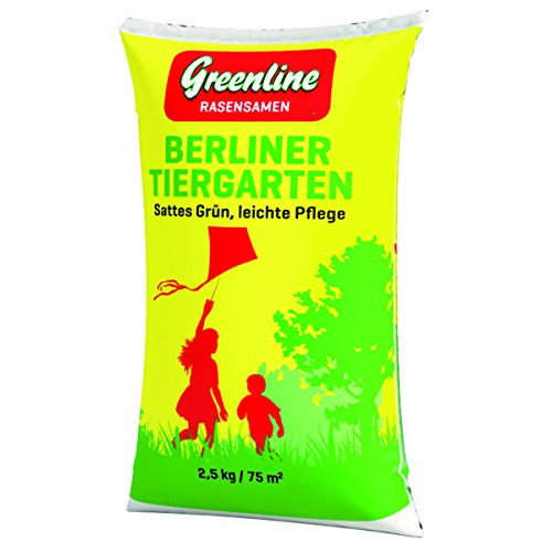 Greenline Rasensamen Berliner Tiergarten 2,5 kg, grün