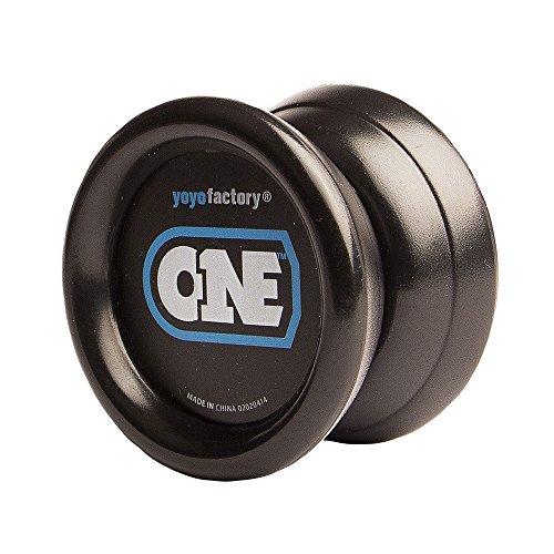 Yoyo - One von Yoyofactory (inkl. 2. Lager) Yo-Yo für Beginner + Fortgeschrittene / Farbe Schwarz.