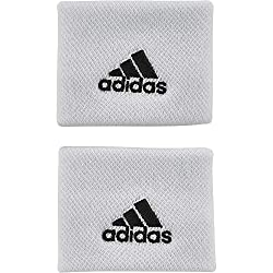 adidas Tennis Sweatband, White / Black, OSFM