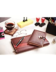 Coi Brown and Chocolate Brown Expendable Faux Leather Chequ