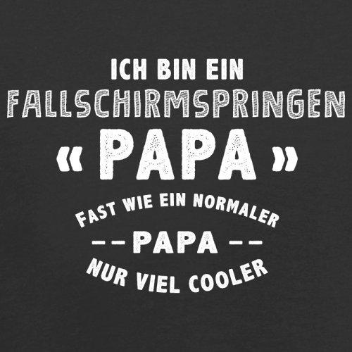 Ich bin ein Fallschirmspringen Papa - Herren T-Shirt - 13 Farben Schwarz
